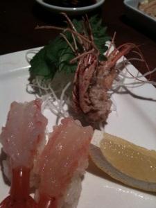 shrimp raw katsuya